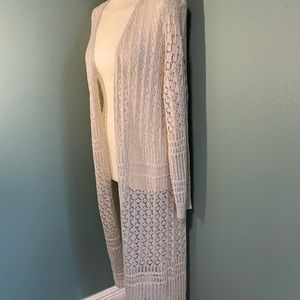 Moral Fiber long knitted sweater